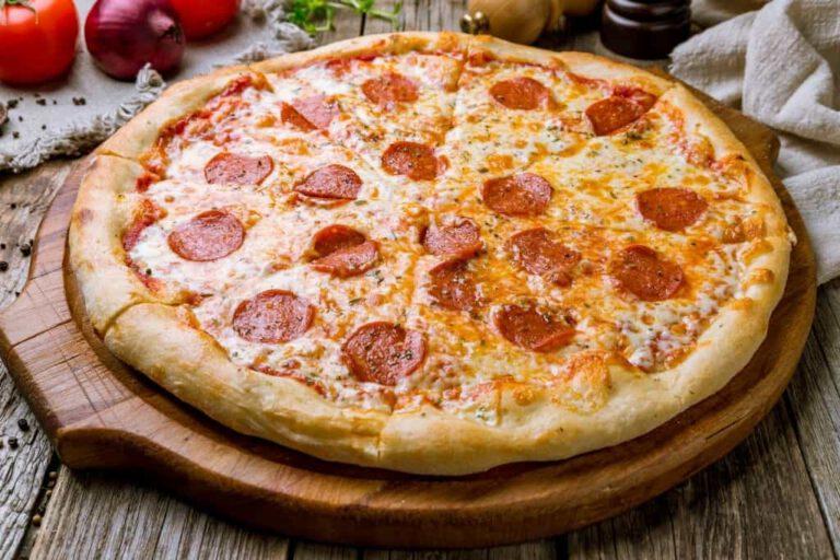 Brick Oven Pepperoni Pizza Fort Salonga NY