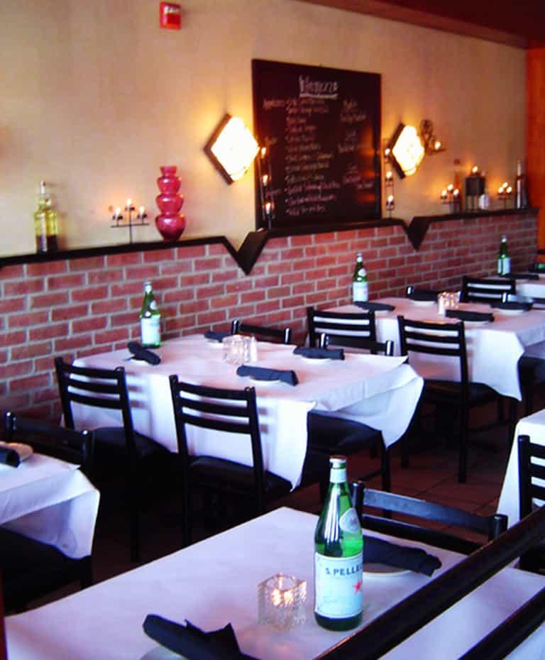 Intermezzo Pizzeria and Italian Restaurant Fort Salonga NY Dining Room